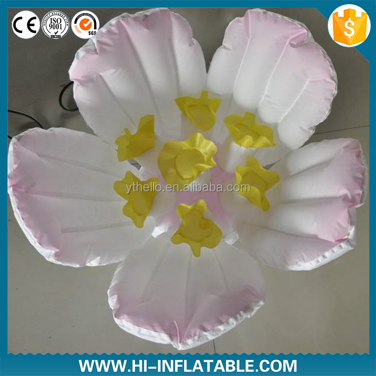 inflatable flowers party shopping mall decoration can be customized wedding decoration price