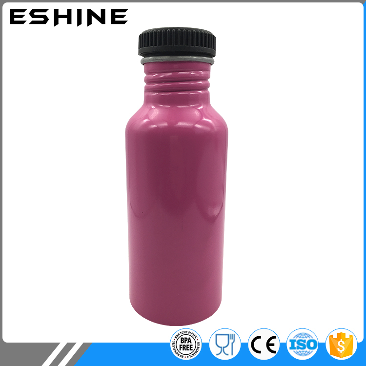 400ml aluminum sport water bottle with big mouth