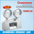 CR-7002 twin round head LED emergency rechargeable light