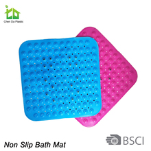 color changing pvc bath mat and fashion anti-slip bath mat for shower