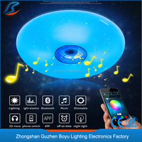 high quality europe style led light for music hall interior decorative ceiling 3000k~6000k/rgb color Atmosphere lamp led