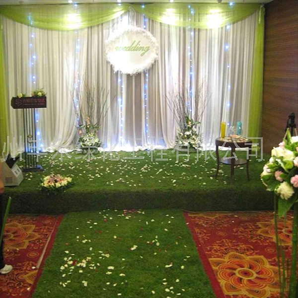 s shape artificial grass dense synthetic indoor turf