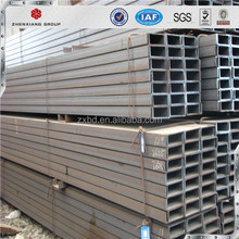 GB standard u shape steel beam sizes