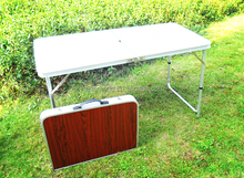 foldable table new design aluminum folding table for market