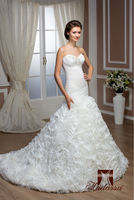 New collection Italy design Mermaid Wedding Dress / Bridal Gown