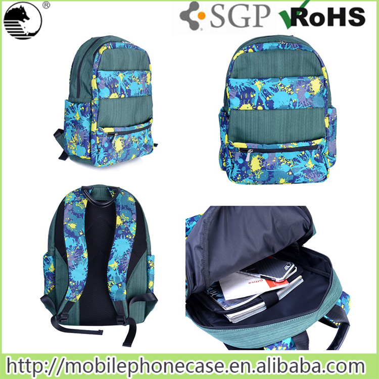 Lowest price nylon college bag school bag
