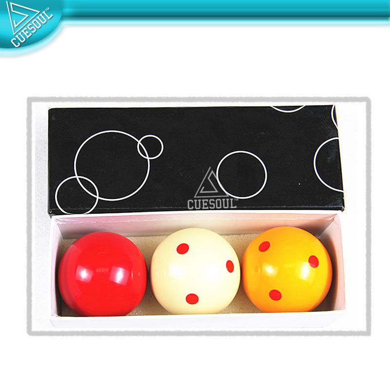 CUESOUL High Quality Billiards/Carom Balls Spotted