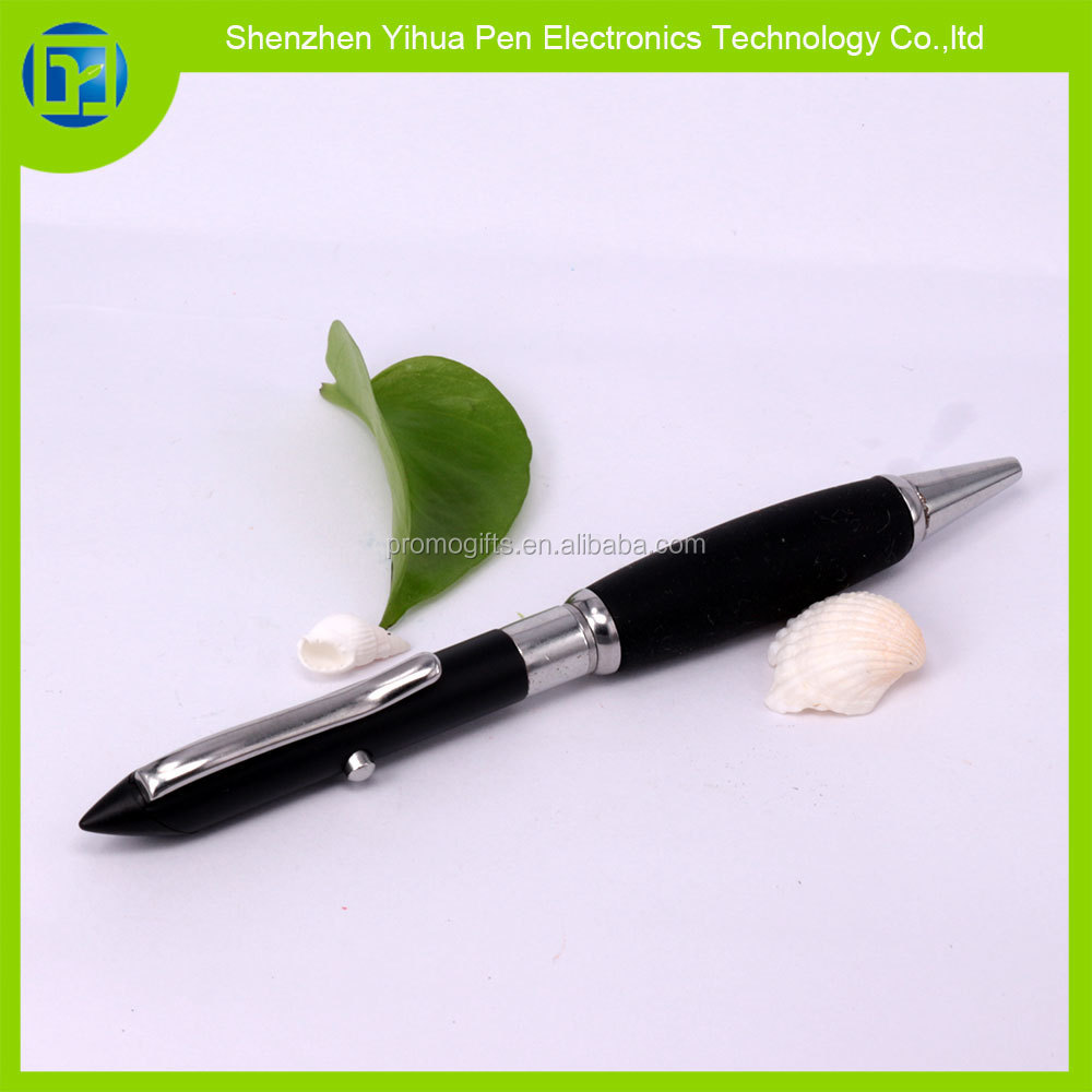 High quality 5mw-650nm red laser pointer pen with Soft wrap,ballpoint pen with red laser pointer for advertising pens