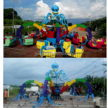 Attractive & Splendid!!!Theme park ride outdoor/indoor amusement equipment Gaint Octopus for sale