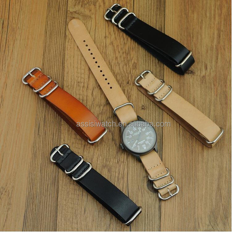 defferent size,defferent colors with genuine leather watch straps