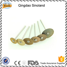 china Lab Sintered Dental Diamond Separating Disc /Sintered Diamond bur