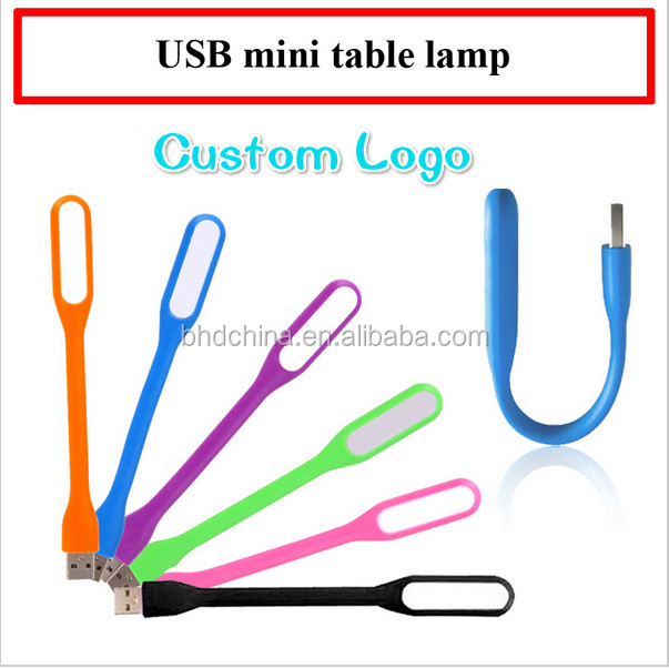 Merchandising Promotional Wedding Birthday Christmas Party <strong>Gift</strong> for Xiaomi Usb Led Light for Laptop Night Reading (Orange)
