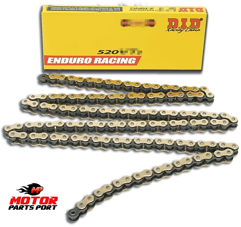 DID 520-114 Gold Chain with Connecting Link motorcycle chain