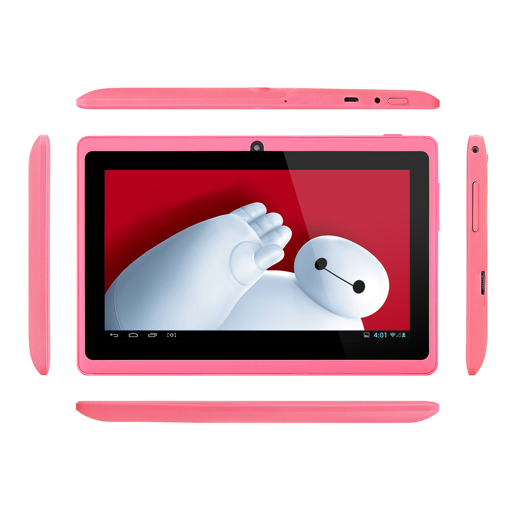 Cheapest Tablet PC 7 inch Q88 Allwinner Android Tablet 4.4 Quad Core Dual Cameras Tablets 8GB ROM tablette