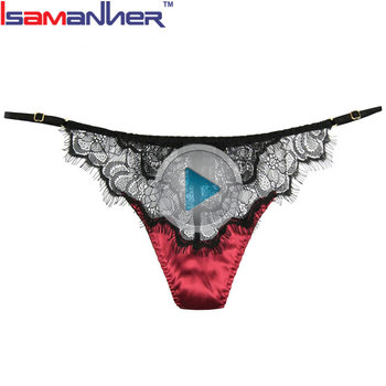 High elasticity free sample lady color sexy thongslace woman g-string