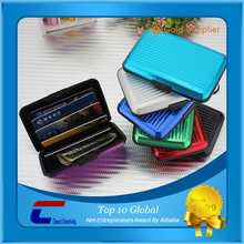 Travel Accessory Aluminum RFID Blocking Case/Secure Card Protector RFID Blocking Wallet