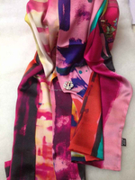silk scarf of Liu Sanjie