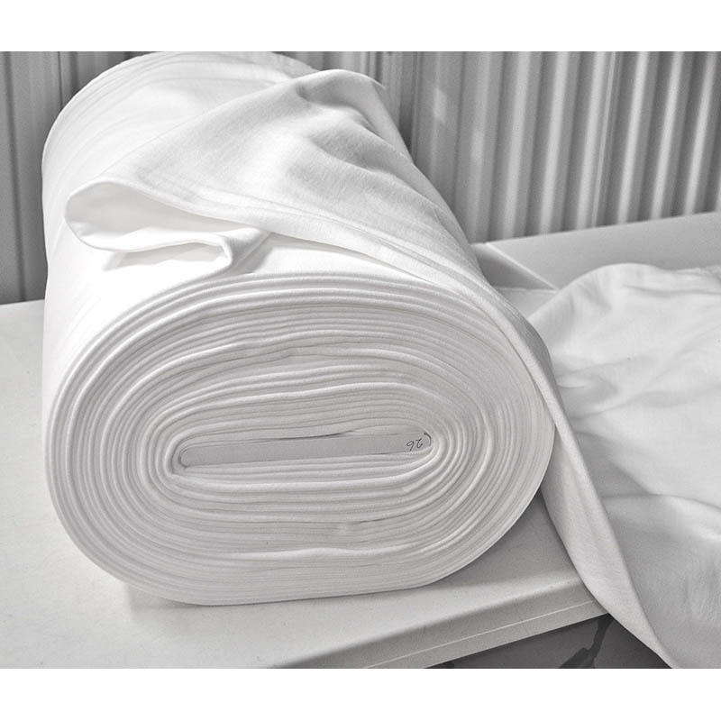 High Quality Hotel 300 Thread Count Cotton White Fabric