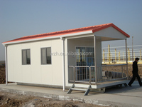 high strength structural steel sandwich panel house