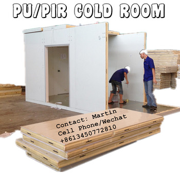 PU Insulation Cold Room by cam lock panels
