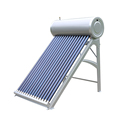 High efficiency stainless steel vacuum tube solar water heater