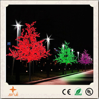 High simulation festival outdoor led tree for decoration led cherry blossom tree light