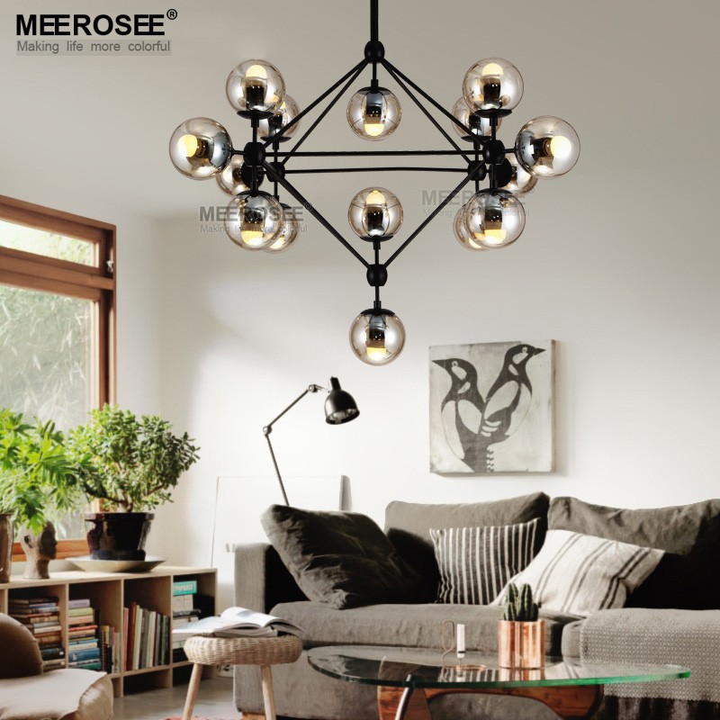 Modern Glass Pendant Light Decorative Hanging pendant lighting MD83011-L15