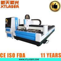 CNC control CE,ISO Certification fiber laser cutting machine small for sheet metal