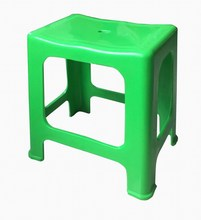 New products PP plastic chair hign-quality anti-skidding armless stackable square stools