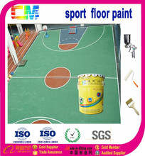 High quality temperature&wear resistant polyurethane sport ground floor paint