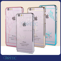New Diamond Hard Crystal Stone Mobile Phone Cover For Girls For iPhone 6 6 plus