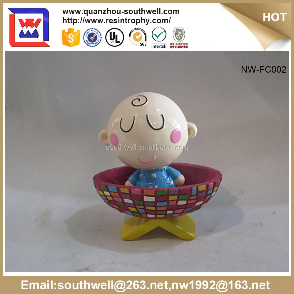 Resin Figurine For Decoration, Custom Made Polyresin Figurine Life Size Cartoon Statue