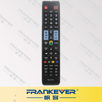 FRANKEVER Hot Selling RM-1078 Ir Led Tv Remote Control