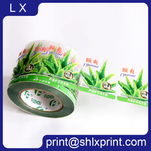 Custom Printed Waterproof Clear Plastic Label