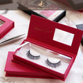 2017 best selling wholesale 3D synthetic silk false eyelash with private label