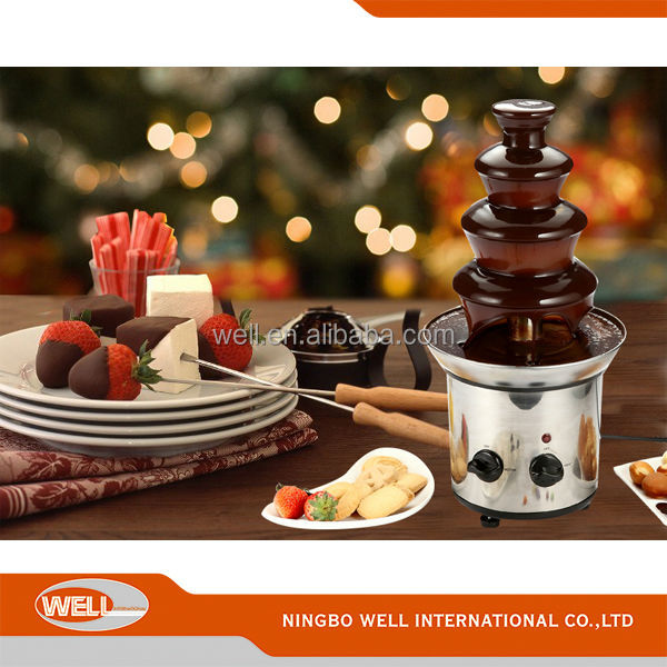 Chocolate fondue wedding