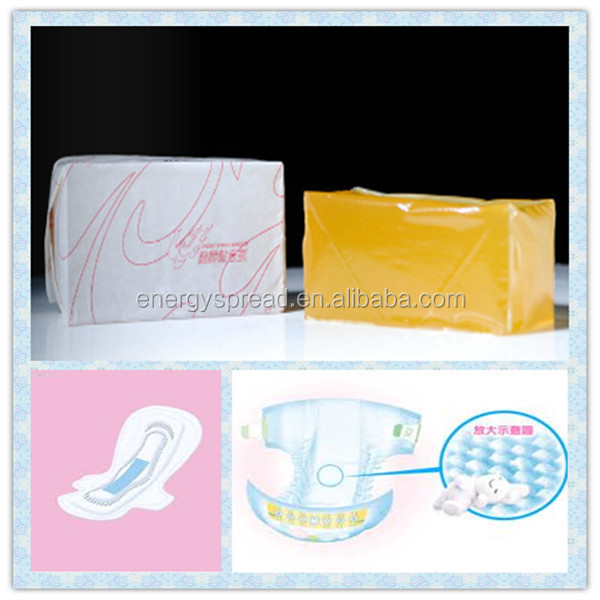 Light Color Hot Melt Glue Adhesive for Adult Diaper