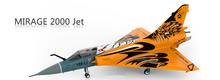Mirage 2000 6-8kg Turbine Hovering JET 3D Thrust Vector RC Airplane Aircraft