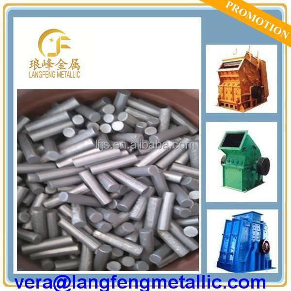 Titanium <strong>carbide</strong> cermet rods blank suitable for welding on the hammer crusher head made in china