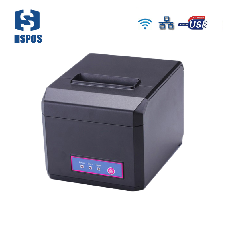WIFI ethernet thermal receipt 80mm pos printer with google cloud print