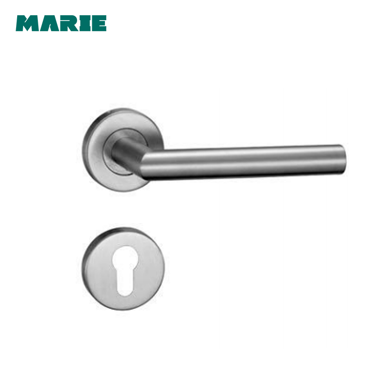 Stainless steel lever type door handle