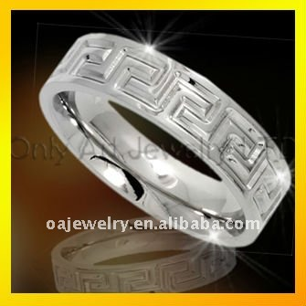 factory price classic 316L CZ rings stainless steel jewellery for men,paypal acceptable
