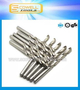 Best saler 13MM HSS M2 (6542) Material Fully ground Straight Shank Twist Drill for drilling metal wood and nail 5pcs/box