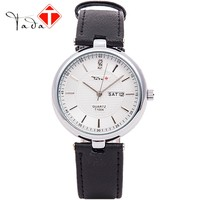 2016 new arrival TADA brand high quality japan movement 3ATM water proof genuine leather watches