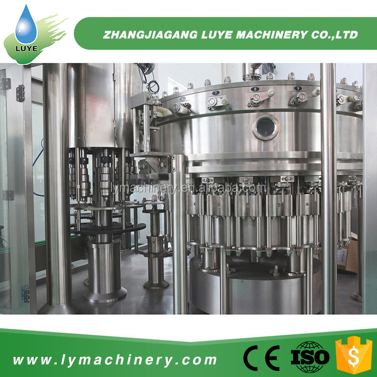 Automatic Big Package Soft Drink Beverage Manufacturing Equipment