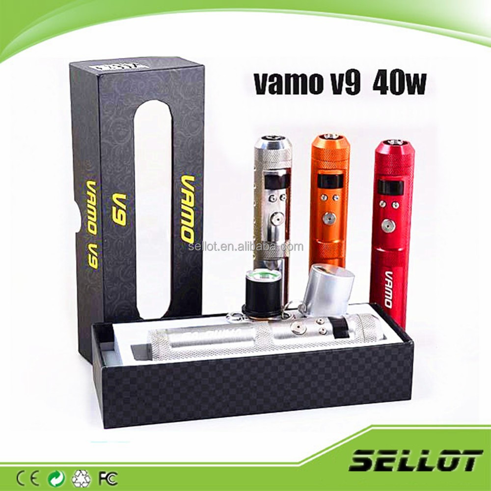 LED Flashlight china wholesale VV VW Mechanical Mod vamo v5 v6 v7 v8 40W VAMO V9