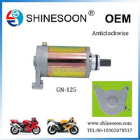 Manufacturer Supplier Exporting Anticlockwise Starter Motor GN125
