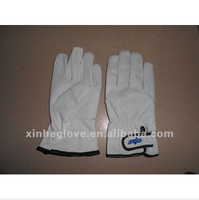 pigskin leather safety gloves size 9
