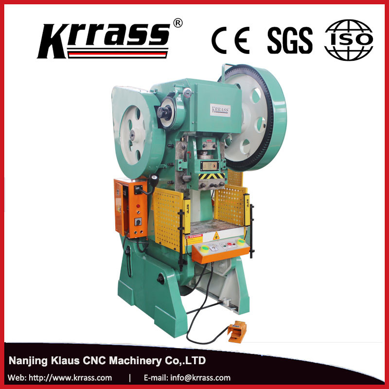 KRRASS C-Type JH21-80 Small High-Speed Deep Throat Hole Hydraulic Punching Presses Machine for aluminium, plastic SGS & CE