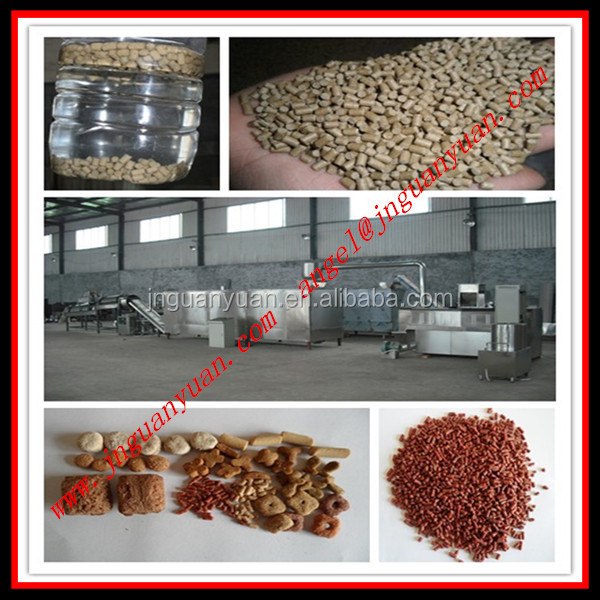 Floating and Sinking Fish Food Making Machine/Production Line/Equipment/Plant